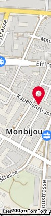 Cartina: Bern, Kapellenstr. 14
